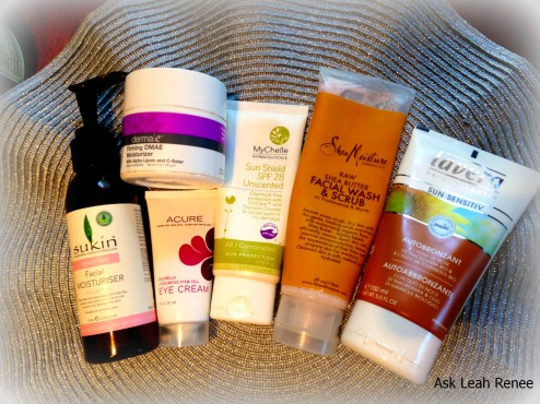 Some of the products I use