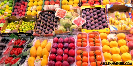 Fruit at Marketplace in Spain