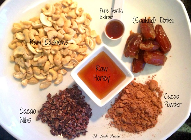 Bliss balls ingredients