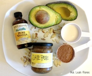 ingredients avo mousse