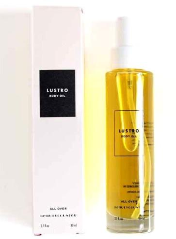 lustro body oil